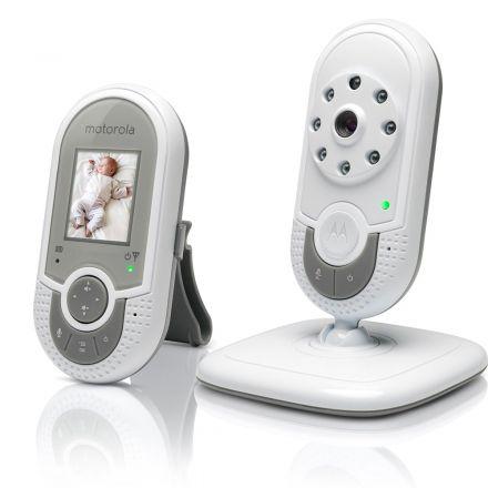 "Babá eletrônica Motorola mbp-621 1.8"" 2.4ghz c/monitor"