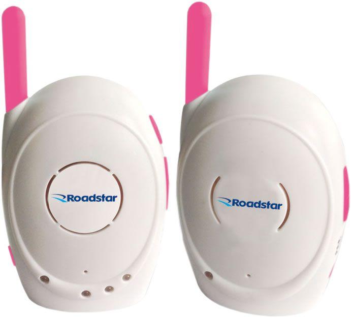 Babá Eletrônica Roadstar RS-1010 Anti Mosquito Rosa