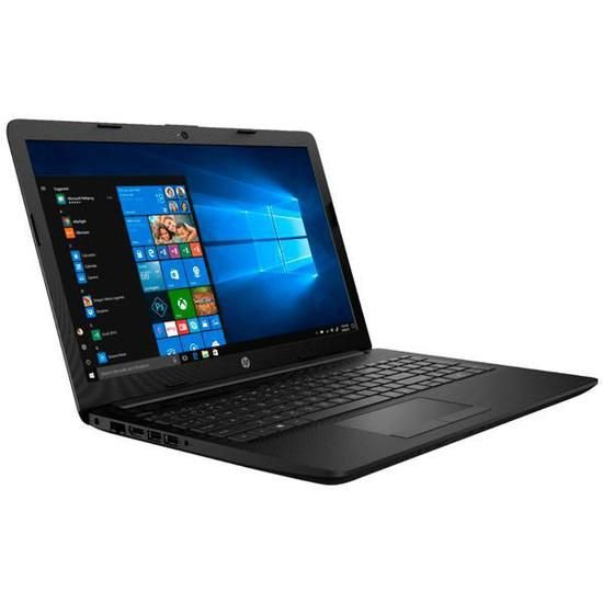 "Notebook HP 15-DB001DX 15.6"" 2.6GHZ 4GB Ram 1TB HD Preto"