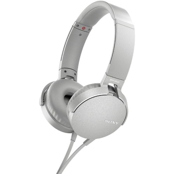 Fone de Ouvido Sony Extra Bass MDR-XB550AP - Branco