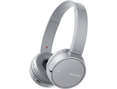 Fone de Ouvido Sony CH500 - Bluetooth - Cinza