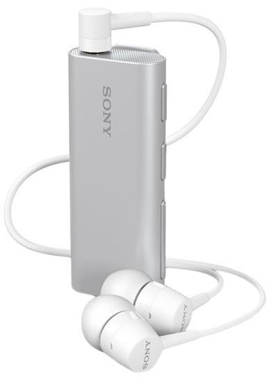 Fone de Ouvido Sony Bluetooth com Alto-Falante SBH56 - Prata