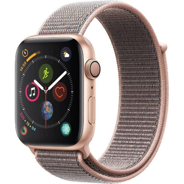Apple Watch Series 4 44mm MU6G2 Aluminio Dourado Smartwatch