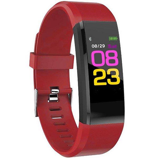 Smartwatch Midi MD-155 Vermelho