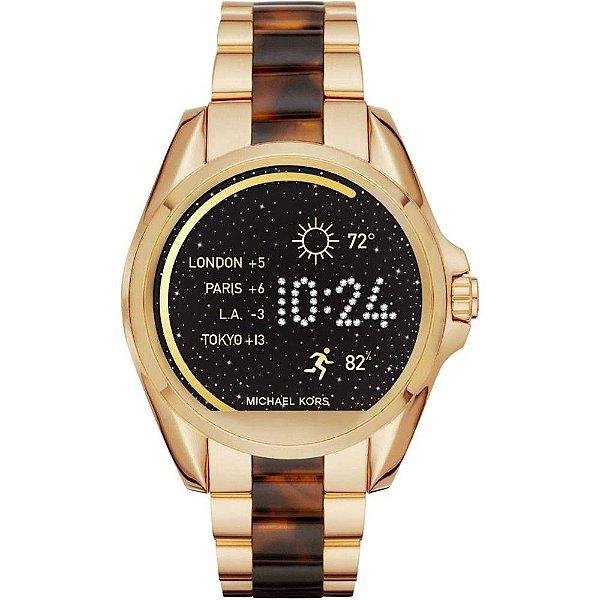Smartwatch Michael Kors Access Bradshaw MKT5003 Dourado