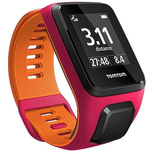 Smartwatch TomTom Runner 3 Rosa / Laranja P