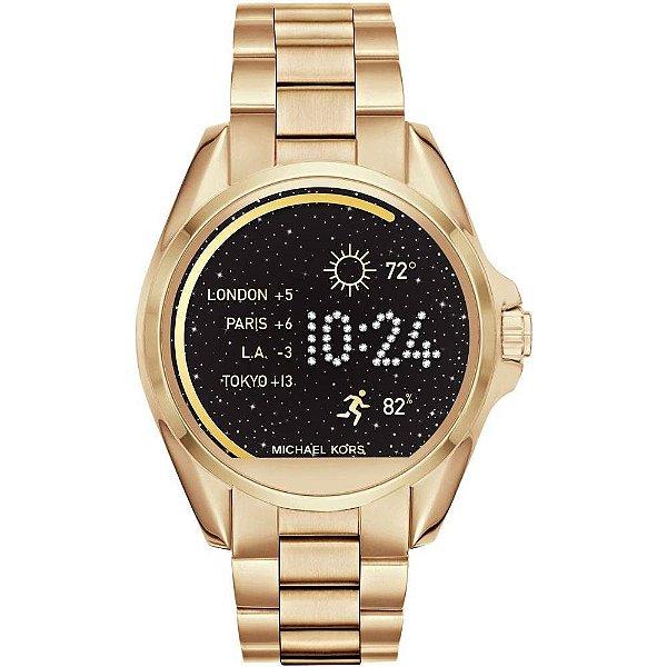 Smartwatch Michael Kors Access Bradshaw MKT5001 Dourado
