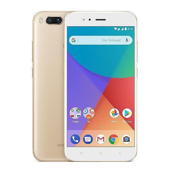 """Smartphone Xiaomi Mi A1 Dual SIM 64GB Tela de 5.5"""" - Rosa"""