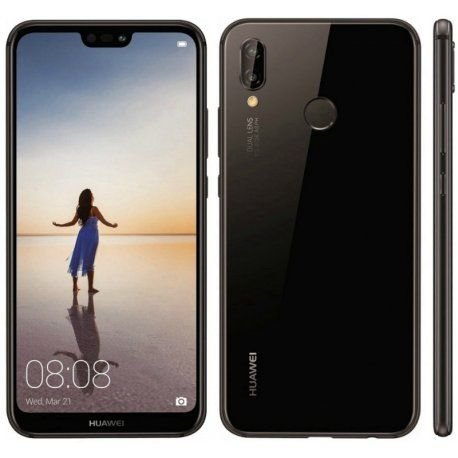 """Smartphone Huawei P20 Lite Dual Sim Tela 32Gb 5.84"""" - Preto"""