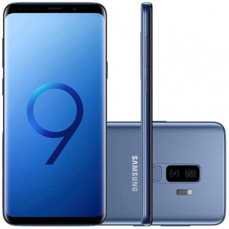 "Smartphone Samsung Galaxy S9+ 256GB Dual Sim 6.2"" - Azul"