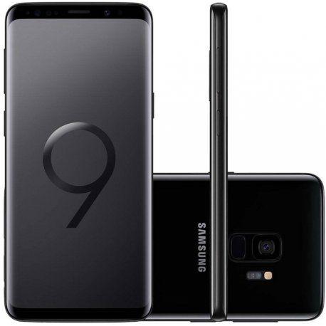 "Smartphone Samsung Galaxy S9 256GB Dual Sim 5.8"" - Preto"