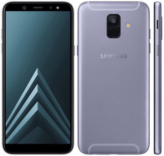 """Smartphone Samsung Galaxy A6 32GB Lte Dual Sim 5.6"""" - Lavanda"""