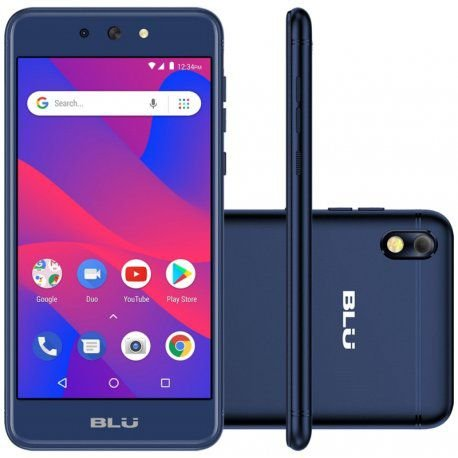 "Smartphone Blu Grand M2 Dual Sim 3G 5.2"" Go Edition -Azul"