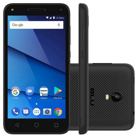 Smartphone Blu Dash L5X Lte Dual Sim 8GB Android 7.0- Preto