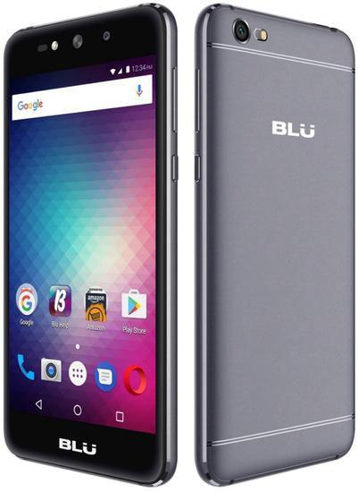 """Smartphone Blu Grand Max Dual Sim 3G 5.0"""" 8MP+8MP- Cinza"""