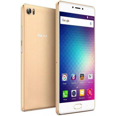 "Smartphone Blu Pure XR Dual Sim Lte 4GB/64GB FHD 5.5""- Dourado"