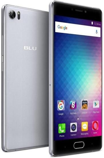 "Smartphone Blu Pure XR Dual Sim Lte 4GB/64GB FHD 5.5""- Cinza"