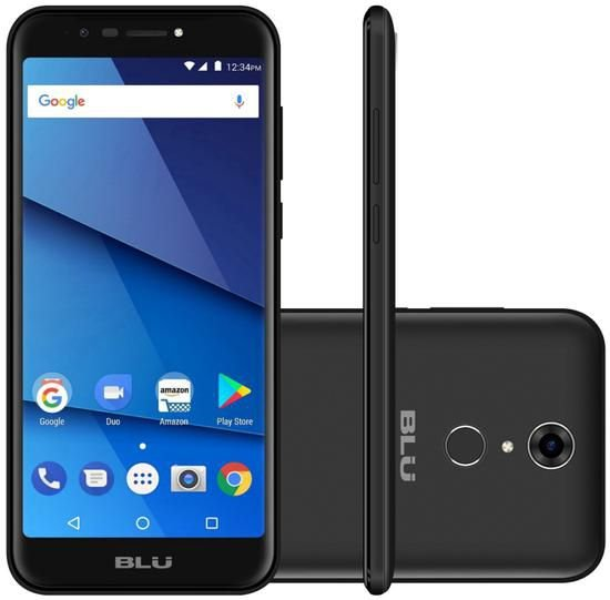 "Smartphone Blu Studio View XL Dual Sim 3G 5.7"" - Preto"