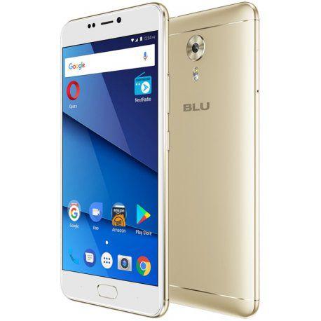 """Smartphone Blu V. 8 Dual Sim 4G Lte 5.5"""" 4GB/64GB -Dourado"""