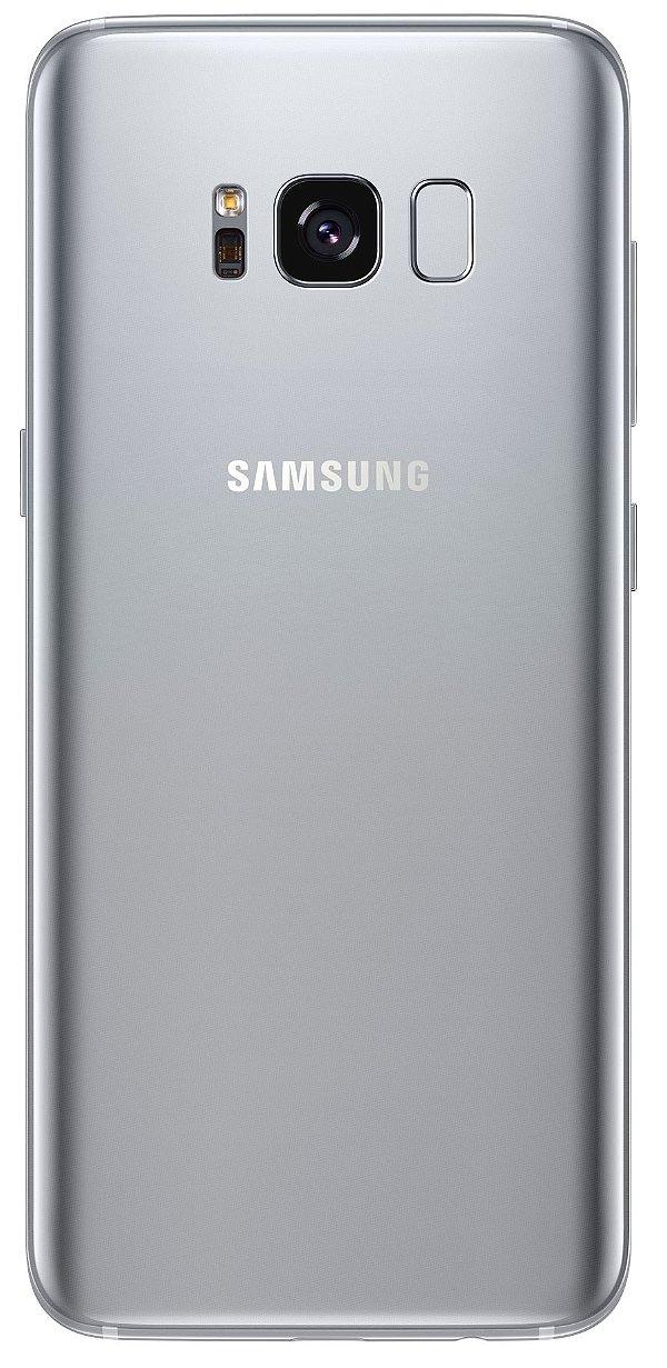 "Smartphone Samsung Galaxy S8 64GB LTE 1 Sim 5.8"" - Prata"