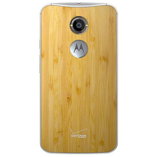 "Smartphone Motorola Moto X Dual Sim 16GB 5.2""- Branco/bamboo"