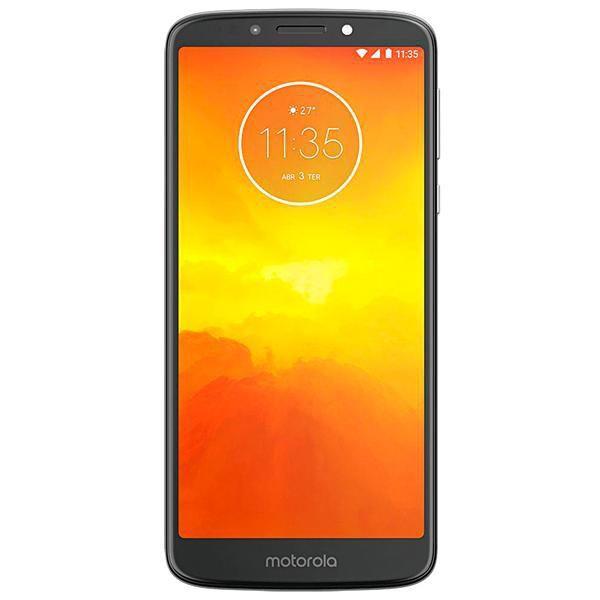 "Smartphone Motorola Moto E5 Plus 16GB Dual Sim 6.0""Cinza flash"