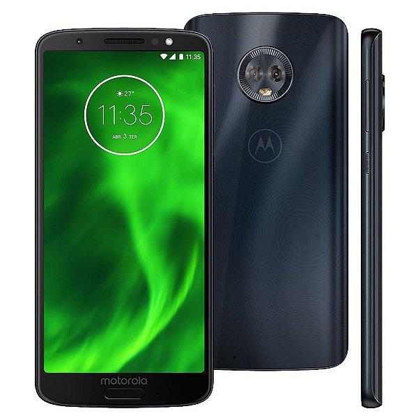 "Smartphone Motorola Moto G6 Dual Sim 32GB 5.7""- Azul"