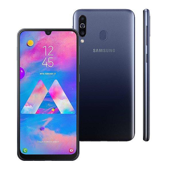 """Smartphone Samsung Galaxy M30 Lte Dual Sim 64GB 6.4""""- Azul"""