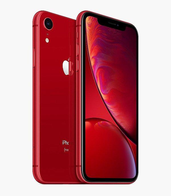 "Smartphone Apple iPhone XR 128GB Tela 6.1"" - Vermelho"