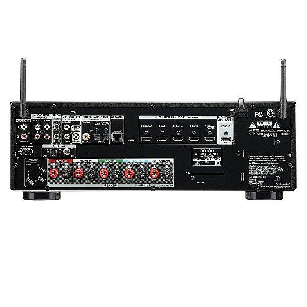 Receiver Av Denon AVR-S640H 5.2CH 4K Ultra HD/Wifi/Bluetooth