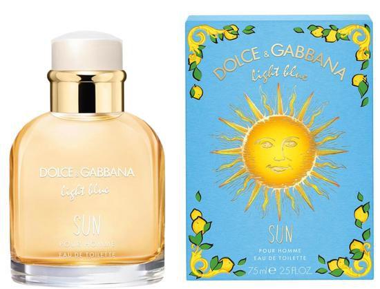 Perfume Dolce Gabbana Light Blue Sun EDT M 75ML