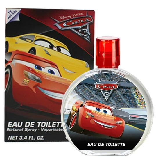 Perfume Disney Pixar Cars 3 Edt 100ML - Infantil