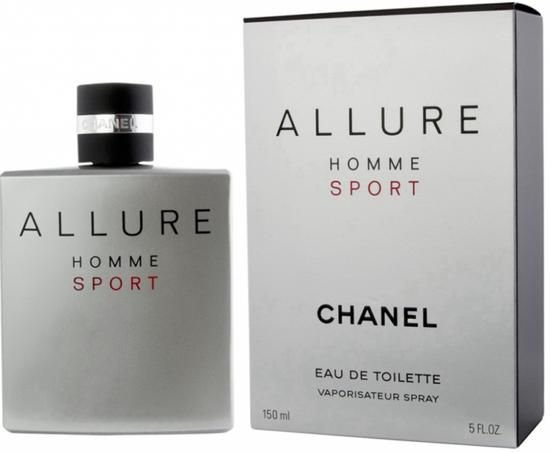Perfume Chanel Allure Homme Sport EDT M 150ml
