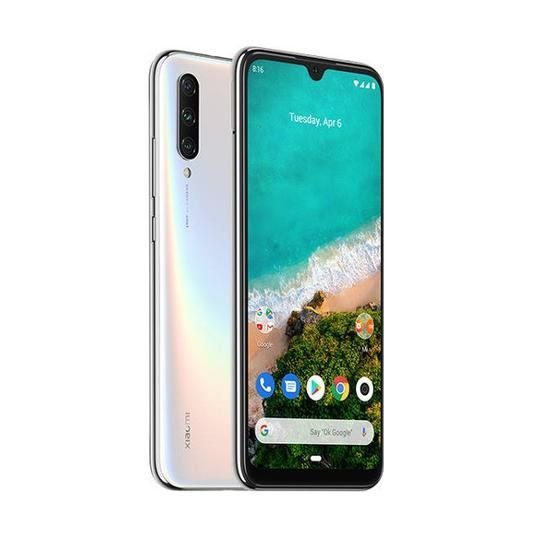 "Smartphone Xiaomi Mi A3 Dual SIM 64GB Tela de 6.01"" - Branco"