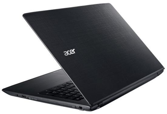 """Notebook Acer E5-576-392H i3 2.2GHz/6GB/1TB/DVD-RW/15.6"""" Preto"""