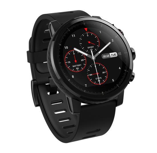Relogio Smartwatch Xiaomi Amazfit Stratos A1619 - Preto