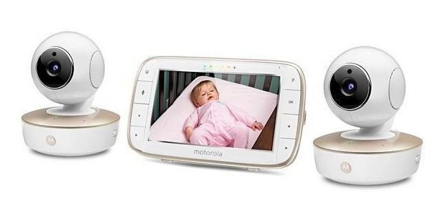 Babá Eletrônica Motorola MBP-50-G2  2 Cameras/Bivolt -Branco