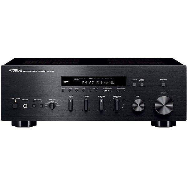Receiver Yamaha R-S500 Stereo A/B Bi-Volt 75W  Preto