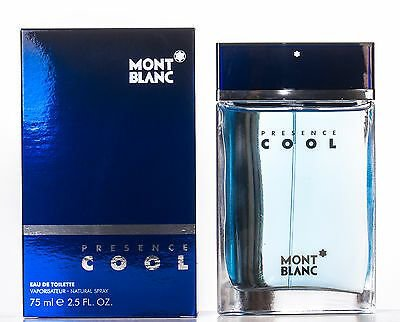 Perfume Montblanc Presence Cool EDT M 75ML