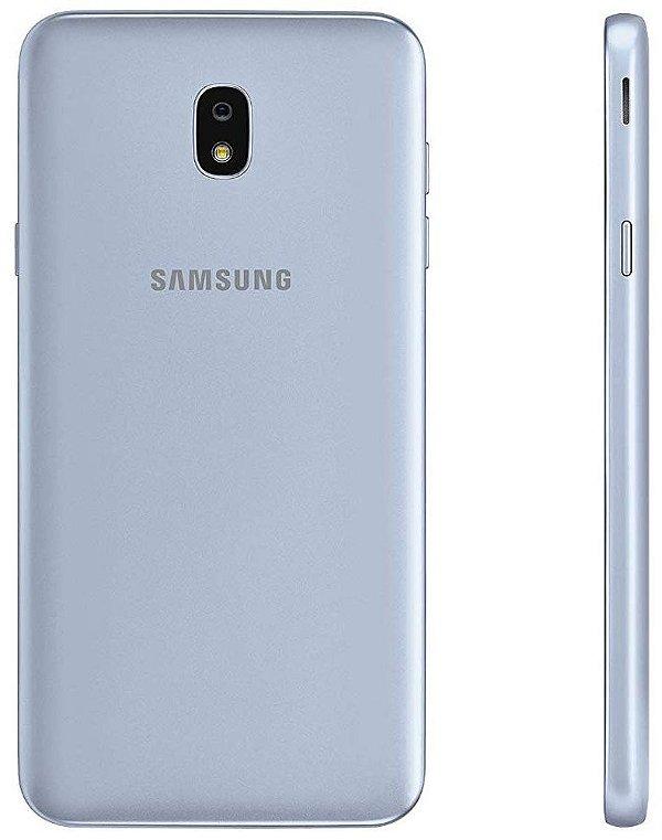 "Smartphone Samsung Galaxy J7 Star 32GB Single Sim 5.5""- Prata"