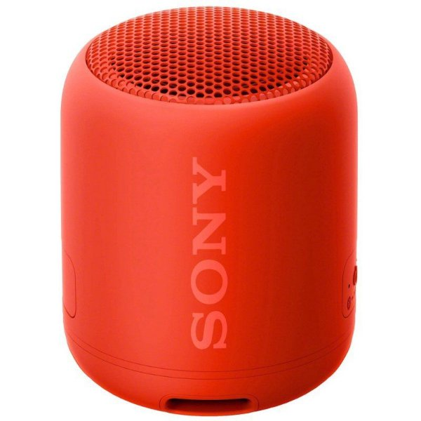 Caixa de Som Sony SRS-XB12 Bluetooth Vermelha
