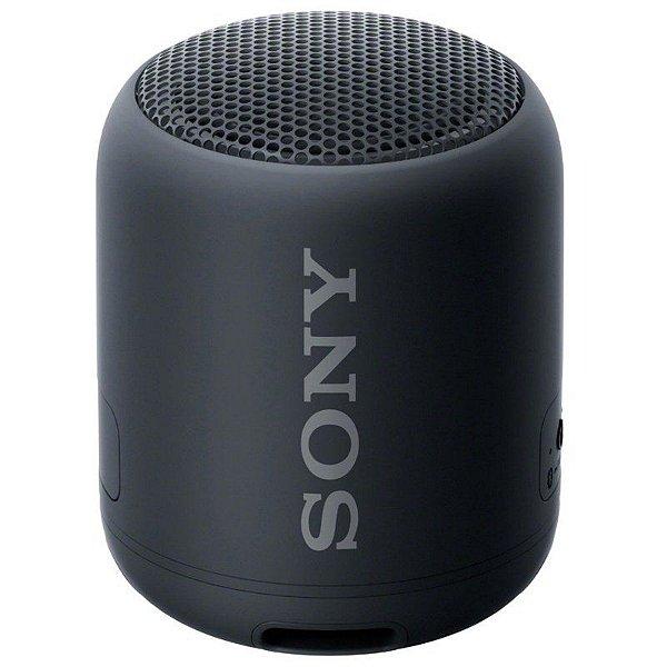 Caixa de Som Sony SRS-XB12 Bluetooth Preta