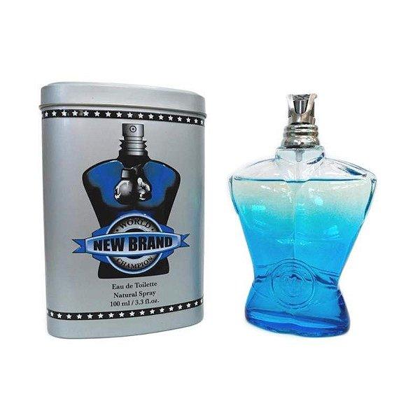 Perfume New Brand World Champion Blue Uomo EDT M 100 ML