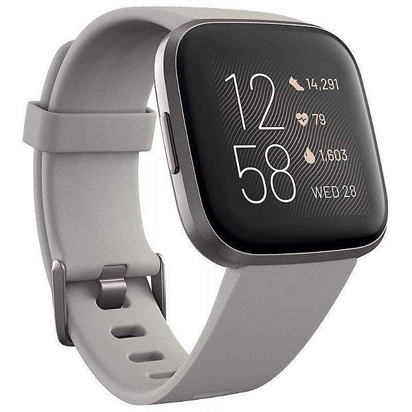 Relogio Smartwatch Fitbit Versa 2 Cinza