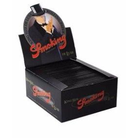 Seda Smoking Preta Deluxe Grande Caixa C 50 Frete Grátis
