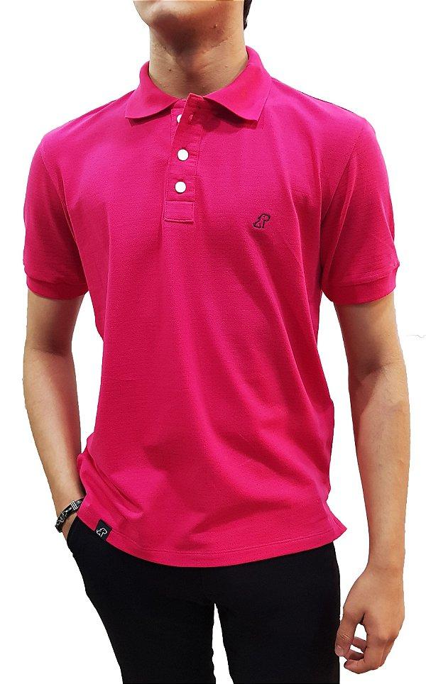 Camiseta gola polo masculina