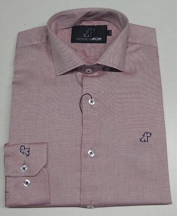 Camisa social Masculina Victor Mancini Manga longa