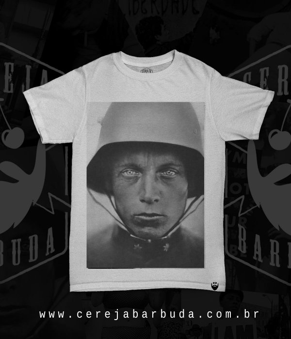 Camiseta O Olhar da Guerra