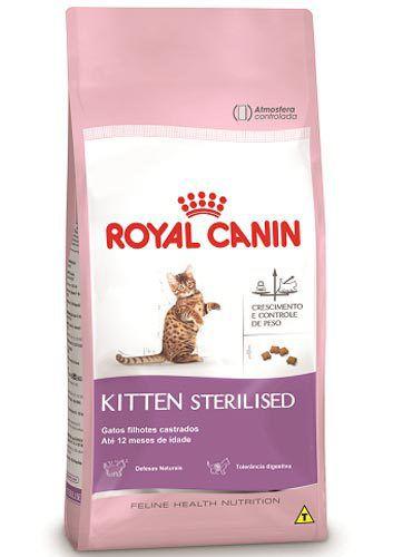 Ração Para Gatos Royal Canin Sterilised Filhote 1,5kg