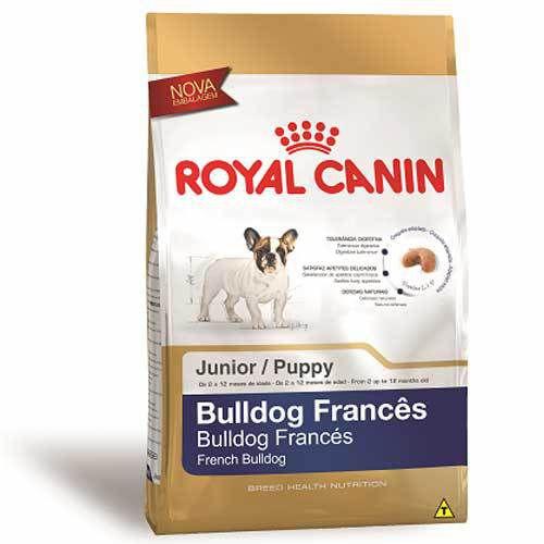 Ração Para Cachorro Royal Canin Bulldog Francês Filhote 3kg